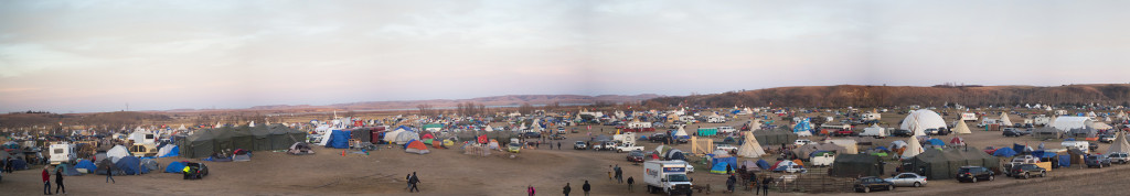 Standing Rock Oceti Sakowin Camp pano 2