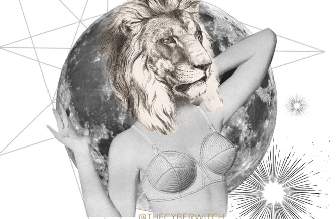 Full Moon Eclipse Lunar Eclipse in Leo