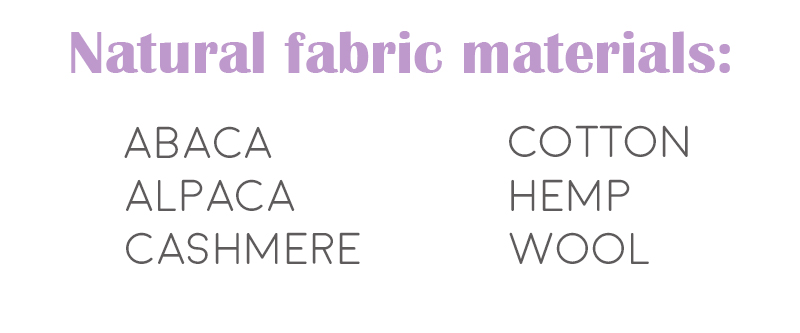 sustainability sustainable habits thrifting wool natural fabric